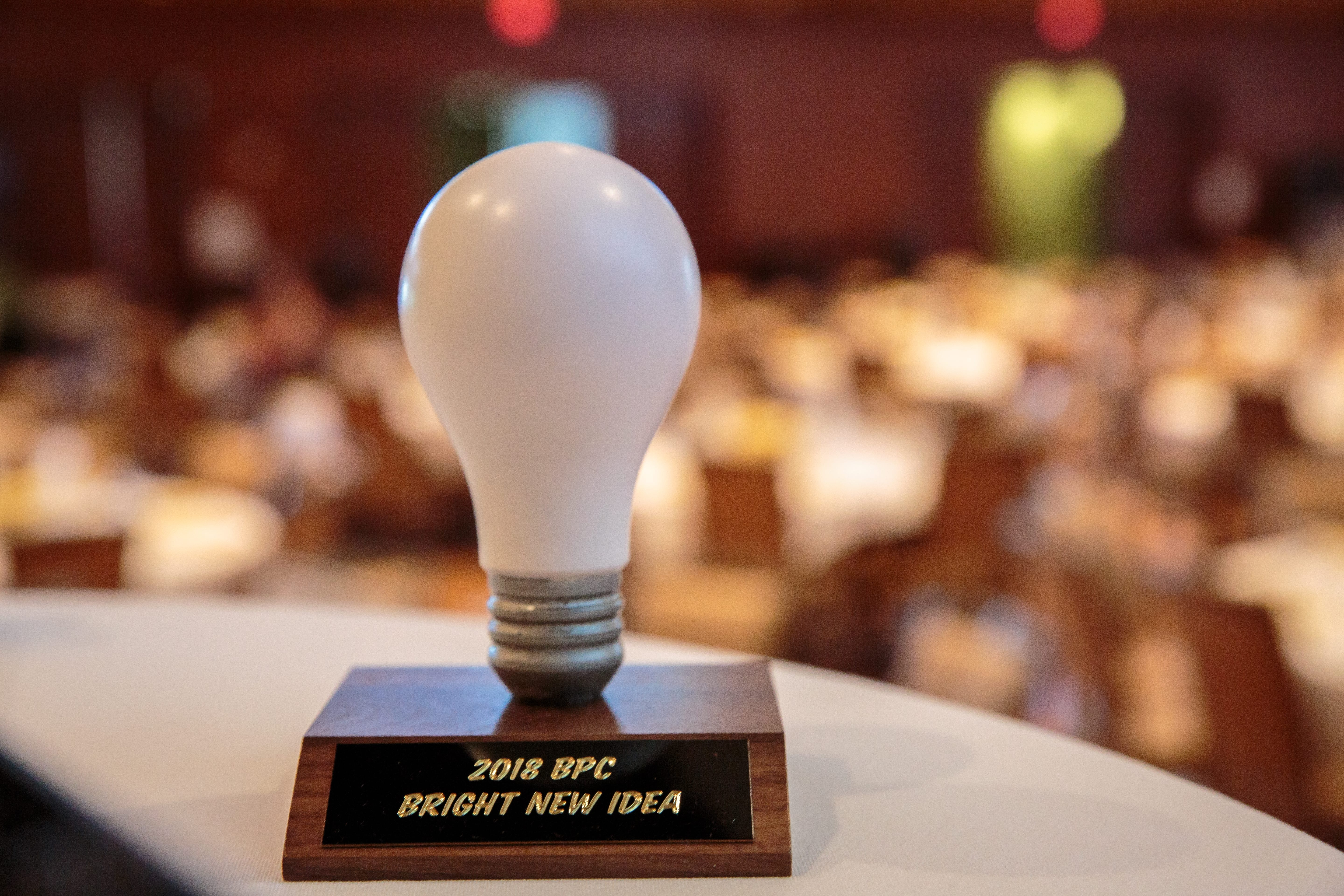 Bright New Idea award