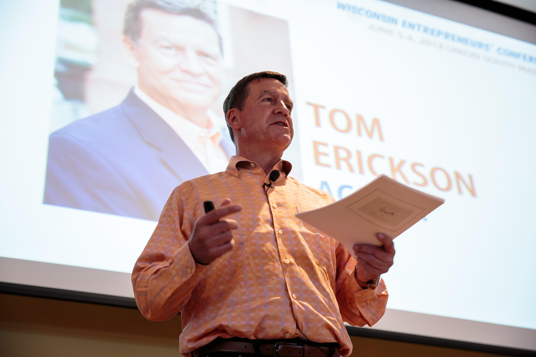 Tom Erickson keynote